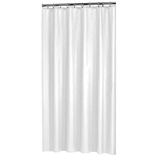 Sealskin Textil Duschvorhang Madeira, Farbe: Weiß, 240 x 200 cm (Duschvorhang Farbe)