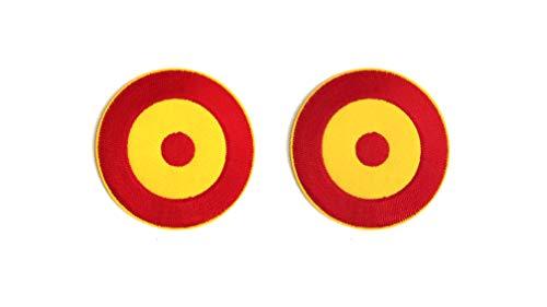 Parche Bandera De España Terrmoadhesivo Pack 2 uds