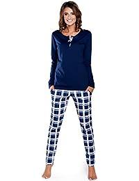 da5891cbc41 Italian Fashion IF Pyjama Ensemble Haut et Bas Vêtement d intérieur Femme  15R2L31 0223