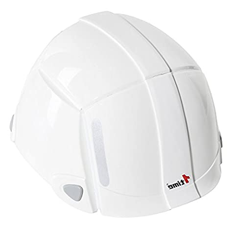 Portable Foldable Safety Helmet Adjustable Road Cycling Mountain Biking Bicycle Helmet Inner Buffer Strip for Unisex Adults Men Women, White