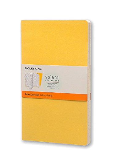 Moleskine Large Volant Sunflower Yellow/Brass Yellow Ruled Journal por Moleskine