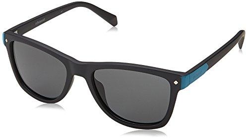 Polaroid Unisex-Kinder PLD 8025/S M9 003 48 Sonnenbrille, Schwarz (Matt Black Grey)