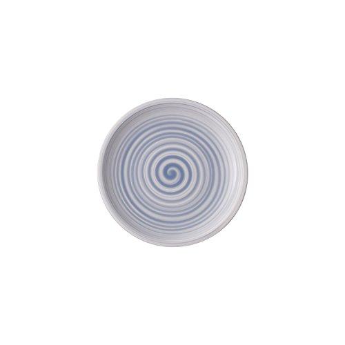 Villeroy & Boch Artesano Nature Bleu Brotteller, 16 cm, Premium Porzellan, Blau