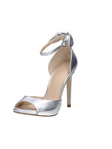 Guess FLAML2LEM03 Sandalo Donna Silver