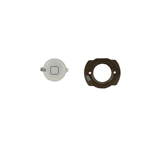 FONFON Homebutton Home Button Knopf für Apple iPod Touch 4 4G Weiß (Flex Ipod 4g Touch Kabel)