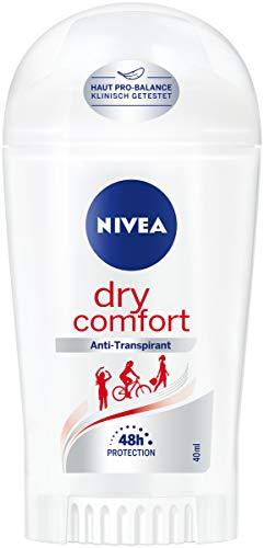 NIVEA Dry Comfort Deo Stift im 6er Pack (6 x 40 ml), Antitranspirant Stick für jede Alltagssituation, Deodorant mit 48h Schutz