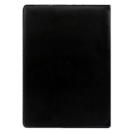 """Hello Zone Exclusive 360° Rotating 10"""" Inch Flip Case Cover Book Cover for Alcatel OneTouch Pixi 3 (10) 3G -Black"""