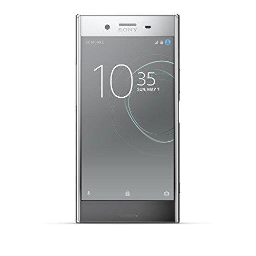 Sony Xperia XZ Premium Smartphone, Memoria Interna da 64 GB, Argento