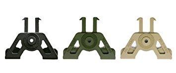 Die IMI DEFENSE MOLLE Attachment attaches Polymer Holster und Magazintaschen, To Body Armor, Westen, Taschen usw.. OD Grün (Armor Weste)