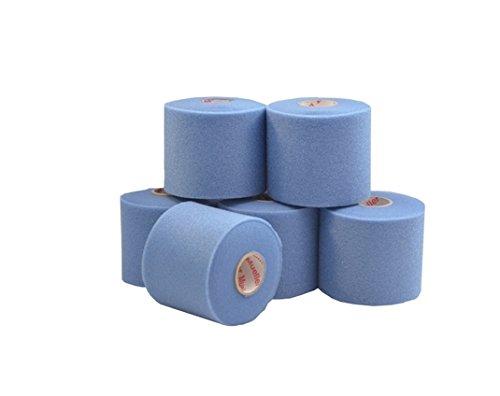 Mueller M-Wrap® | Unterzugbinde | 6 Rollen | 6,9 cm x 27,4 m | Verschiedene Farben | Untertape (Blau) -