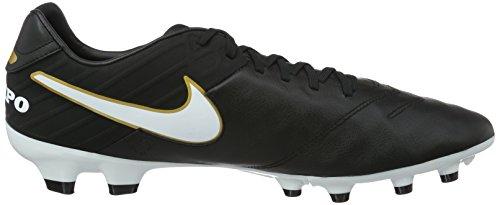 Nike Herren Tiempo Mystic V FG Fußballschuhe Schwarz (Black/White)
