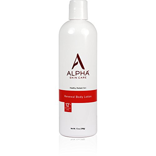 Fragrance Free Body Care Lotion (Alpha Skin Care Revitalizing Body Lotion with 12% Glycolic AHA, 12 Ounce by Alpha Skin Care)