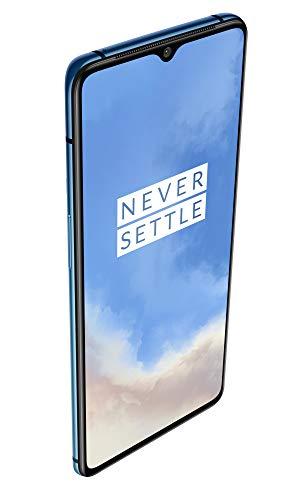 OnePlus 7T (Glacier Blue, 8GB RAM, Super AMOLED Display, 256GB Storage, 3800mAH Battery)