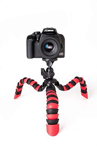 TronicXL Premium Kamerastativ Kamera Stativ Flexibel Dreibein Fotostativ Videostativ kompatibel für PANASONIC HC-V777EG-K HC-V380EG-K V180EG-K X920 Camcorder Lumix DMC-TZ81 CM1LX7 LX100 FT30 FT5 TZ41