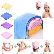 Imported 1PC Magic Microfiber Hair-drying Towel Cap Bath Head Wrap