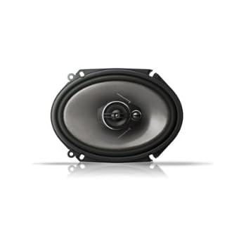 pioneer 6x8 speakers. pioneer ts-a6813i 6 x 8 3-way coaxial speaker 350w custom fit ( 6x8 speakers