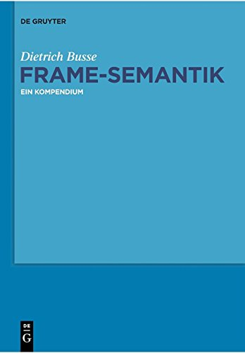 Frame-Semantik: Ein Kompendium