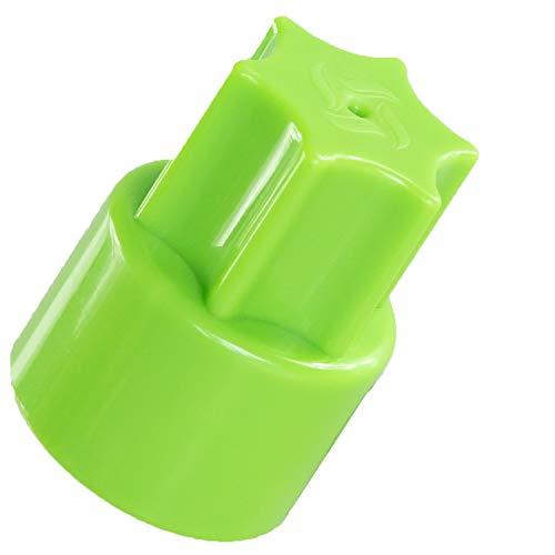TeigTwister® | Teiglöser aus Kunststoff | Messerdrehhilfe passend für Thermomix TM6/TM5 | Farbe: grün