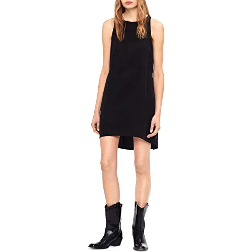 Calvin Klein Jeans Womens Keyhole High-Low Party Dress