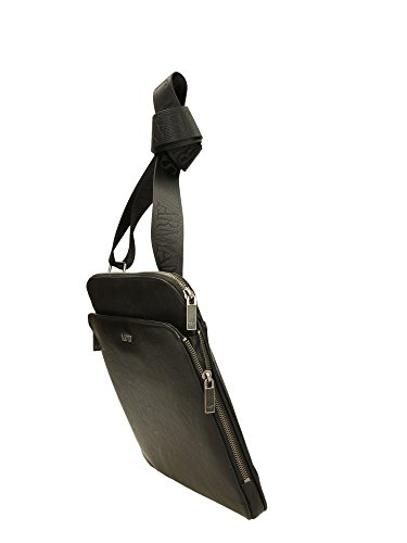 B6251S612 Armani Jeans Sac à bandoulière Homme Polyuréthane Noir Noir