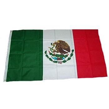 Flaggenking Mexico Flagge Fahne Wetterfest Weiss 150 X 90 X 1 Cm