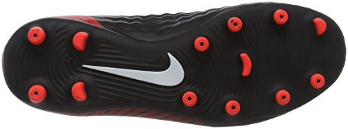 Nike 844204-374, Chaussures de Football Mixte Adulte Multicolore (Noir/Rouge Université/Blanc 061)