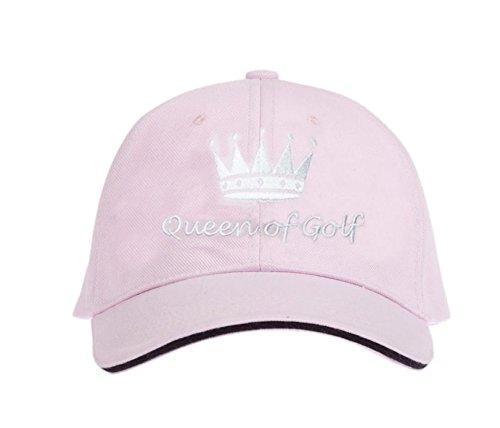 CEBEGO® Golf Cap rosa Damen Queen of Golf,Golfmütze,Golfcap,Golfkappe pink Damen,Golfgeschenke Golfkleidung Golfzubehör