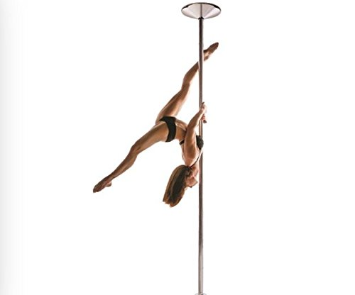 X Pole XPert 45mm Chrome - Static And Spinning - Professional Pole Dancing Kit