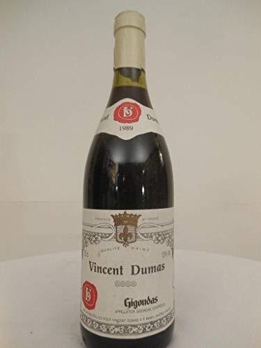 Preisvergleich Produktbild gigondas dumas rouge 1989 - côtes du rhône france: une bouteille de vin.
