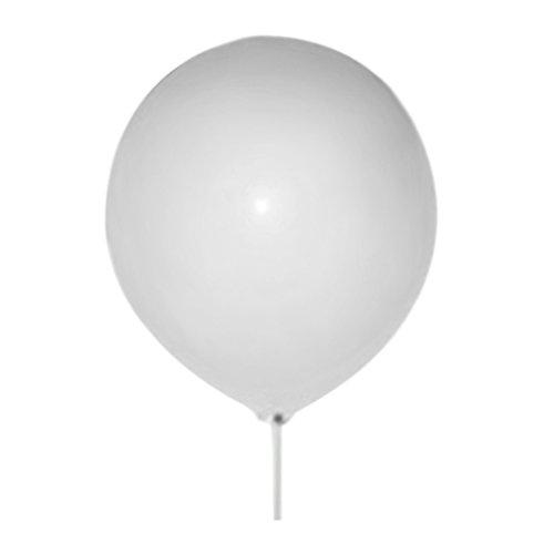 Woopower Globo de látex gigante de 45,72 cm para ramos, festivales, cumpleaños, bodas, fiestas, juegos de decoración, Blanco, Tamaño libre