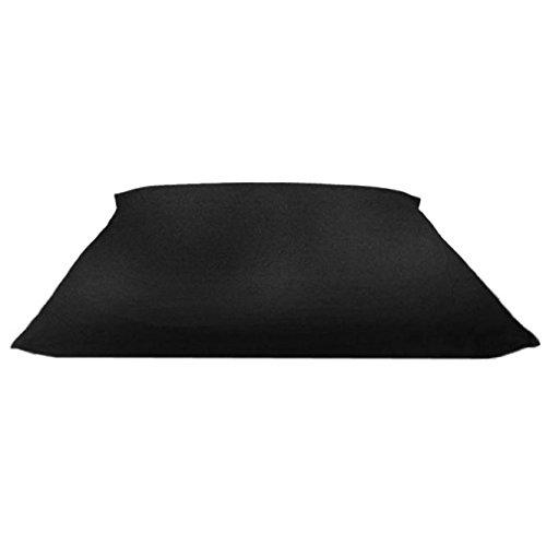 zabuton traditionnel noir