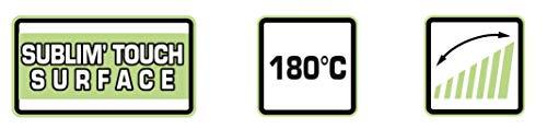 BaByliss C332E Tenacilla de pelo de 32 mm, 10 ajustes de temperatura, moldeador de pelo, cable profesional giratorio, recubrimiento Sublim Touch con punta fría de agarre