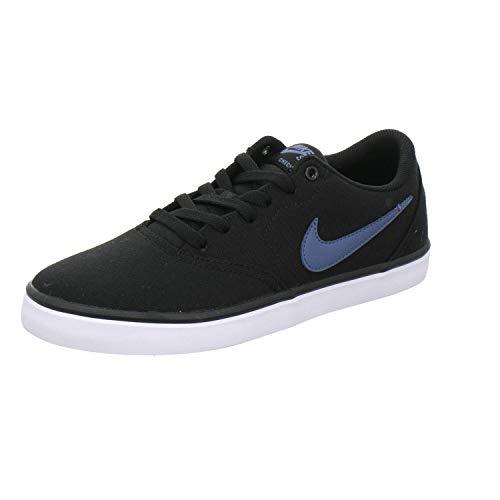 Nike Adults  Sb Check Solar CNVS Fitness Shoes Multicolour (Black  Thunderstorm White 982e7ad048e