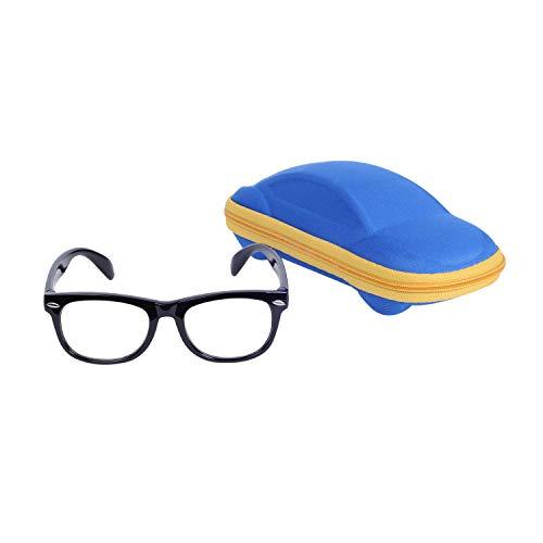 Kinder Blaulichtfilter Brille Computerbrille Gamingbrille Ohne Stärke UV Blockieren TR90 Rahmen Jungen & Mädchen Alter 2-6