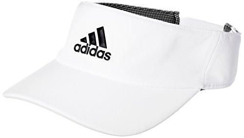 adidas (ADIEY) adidas Herren Climalite Visier White/Black OSFY