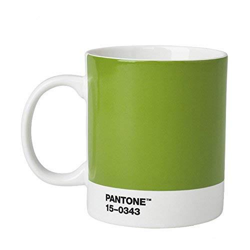 Pantone Kaffeetasse, Porzellan, Green 15-0343, 8.4 x 8.4 x 12.1 cm