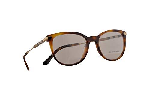 Burberry B 2255-Q-F Brille 53-18-140 Havana Braunen Mit Demonstrationsgläsern 3316 BE BE2255Q B2255-Q-F