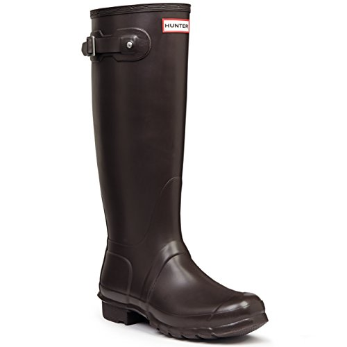 Donna Hunter Original Tall Pioggia La Neve Wellingtons Wellies Impermeabile Stivali Cacciatore Rosso