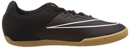 Nike  Hypervenomx Pro IC, Herren Fußballschuhe Schwarz / Weiß / Rot (Schwarz / Weiß-Challenge-Rot)