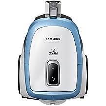 Samsung VCC47T0H36 Serie Active Aspirapolvere Traino, Capacità del Contenitore 2 L, 78 W, Bianco/Blu
