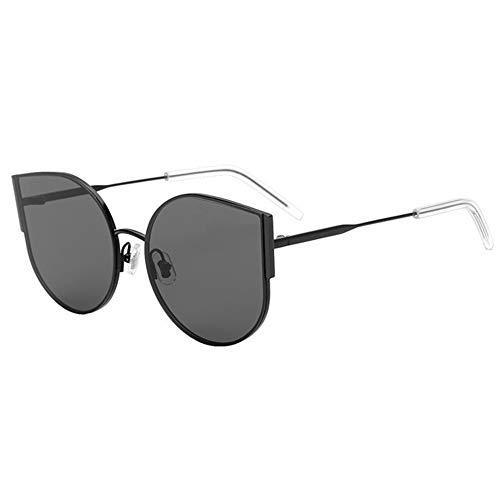 LJ UV400 Black Cat Eye Sonnenbrille Mode Weiblich Polarisierte Sonnenbrille Gläser Persönlichkeits-Mode