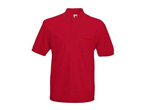 ATELIER DEL RICAMO Herren Poloshirt * Einheitsgröße Rot
