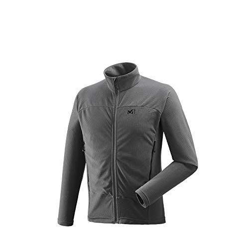 MILLET Vector Grid Polaire Homme, Tarmac, FR : M (Taille Fabricant : M)