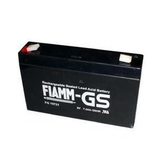 Blei-Gel Akku Fiamm FG 10721 PB 6V/7200mAh/Lageunabhängiger Betrieb/Hohe Zyklenfestigkeit/Gute Hochstromeigenschaften