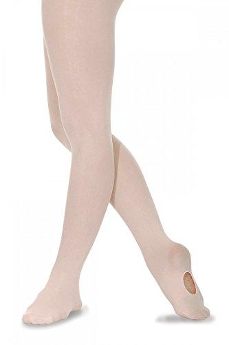 Roch Valley CON Ballett Strumphose mit variablem Fuß Blassrosa M (38)