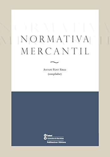 Normativa mercantil (eBook) (Catalan Edition) eBook: Antoni Font ...
