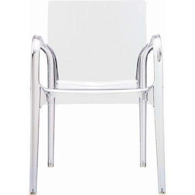 Acryl Plexiglas Ghost chair Armlehn Stuhl Ghost Stuhl Transparent Glasklar (Glasklar)
