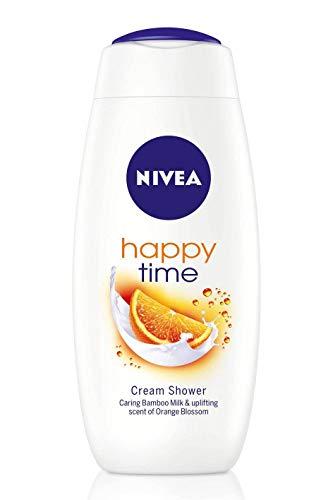 6er Pack - NIVEA Women Duschcreme - Happy Time - für alle Hauttypen - 400 ml