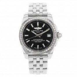 Breitling Galactic 36 A7433053/BE08-376A Stainless Steel Quartz Ladies Watch