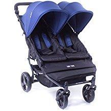 Baby Monsters Silla Gemelar Easy Twin Color Midnight + Textil Adicionalde Regalo en Otro Color